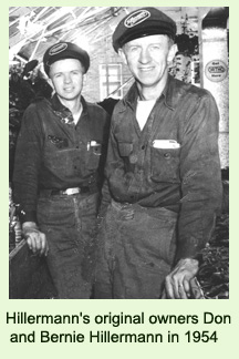 a picture of Hillermann's original owners Don and Bernie Hillermann