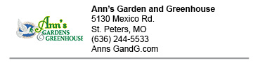 Ann's Garden and Greenhouse link