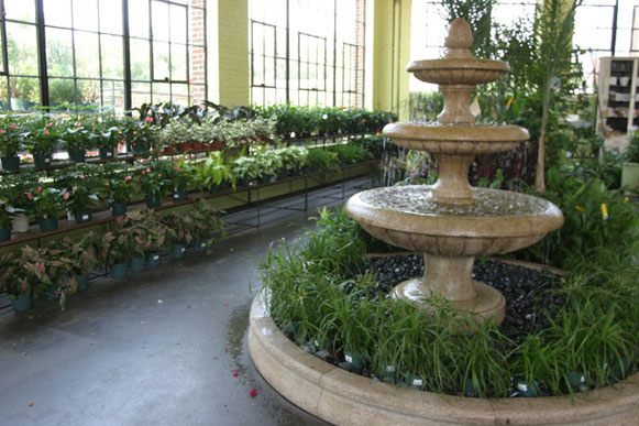 A picture of a garden center interior