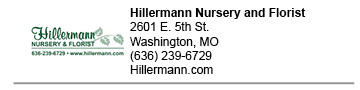 Hillermann Nursery and Florist link