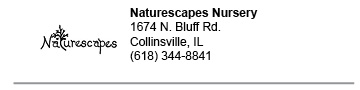 Naturescapes Nursery link