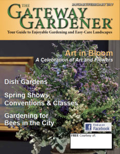 An image of the cover of The Gateway Gardener Jan/Feb 2017 issue.