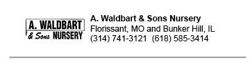 Waldbart Nursery link