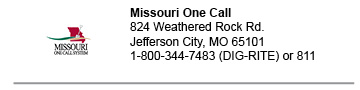 Missouri One Call